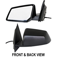Fits 08-10  Outlook Left Driver Power Mirror With Manual Folding