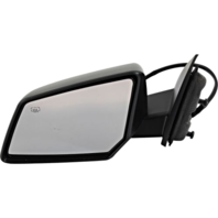 Fits 07-10 Saturn Outlook Left Driver Power Mirror W/Heat And Manual Folding