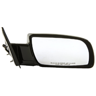 Fits 92-94 Blazer Jimmy 92-99 Suburban Power Mirror Right Pass Unpainted No Heat
