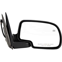 Fits 00-02 Suburban Tahoe Yukon Right Pass Power Mirror With Heat, Puddle Light