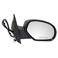 Fits 07-13 Escalade ESV Silverado Sierra Right Pass Pwr Mirror Ht Puddle ManFold