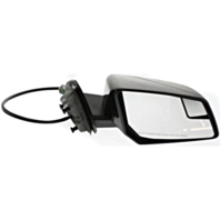 Fits 09-10  Outlook Right Pass Pwr Mirror W/Heat, Sig, Spotter,Manual Fold