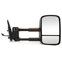Fits 02 Escalade / Avalanche Right Pass Power Mirror W/Heat Manual Telescopic
