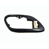 Fits 95-02 Chevy GMC Trucks SUV Interior Door Handle Bezel Blue Left Front, Rear