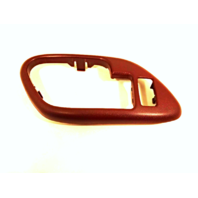Fits 95-02 Chevy GMC Trucks SUV Interior Door Handle Bezel Red Left Front, Rear