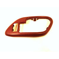 Fits 95-02 Chevy GMC Trucks SUV Interior Door Handle Bezel Red Right Front, Rear