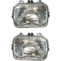 Sealed Beam Headlight Fits 96-18  Express, GM Savana Van Left & Right Set
