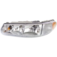 Fits 97-05  Century 97-04 Regal Left Driver Headlamp Assem No Corner Lamp