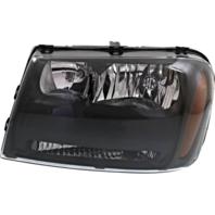 Fits 06-09 Chev Trailblazer 06 EXT Left Headlamp Assembly W/Half Width Grill Bar