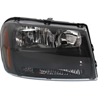 Fits 06-09 Chev Trailblazer 06 EXT Right Headlamp Assembly W/Half Width Grill Bar