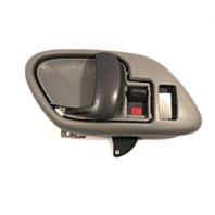 Left Inside Power Door Handle & Bezel Grey Front or Rear Fits GM Trucks, SUV
