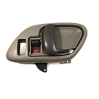 Right Inside Power Door Handle & Bezel Grey Front or Rear Fits GM Trucks, SUV