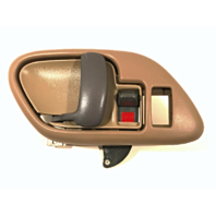 Right Inside Power Door Handle & Bezel Tan Front or Rear Fits GM Trucks, SUV