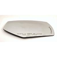 Fits 14-18 Silverado, Sierra Right Pass Heated Mirror Glass Lens w/Signal Icon