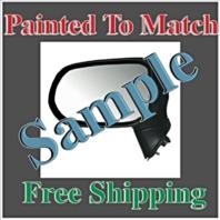 Painted to Match Power Mirror 06-11 Civic Sedan Exc Hybrid Right Pass No Heat