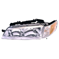 Fits 94-97 Accord Left Driver Headlight Assembly