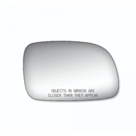 Right Pass Convex Mirror Glass Lens w/Adhesive for 99-04 Grand Cherokee