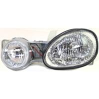 Fits 00-01 Kia Spectra Left Driver Headlamp Assembly