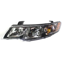 Fits 10-13 Forte Sedan 11-13 Forte Hatchback Left Driver Halogen Headlight Assem