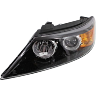 Fits 11-13  Sorento Left Driver Halogen Headlamp Assembly