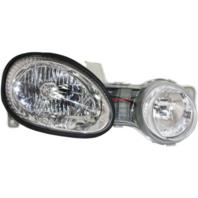 Fits 00-01 Kia Spectra Right Passenger Headlamp Assembly