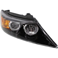 Fits 11-13  Sorento Right Passenger Halogen Headlamp Assembly