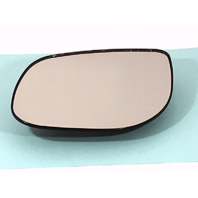 Left Driver Side Mirror Glass Heated w/ Rear Back Plate for 10-13 Kia Forte OE