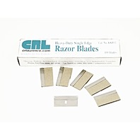 CRL .012 Heavy Duty Single Edge Razor Blades 200 Count