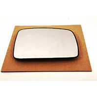 Right Pass Heated Mirror Glass w/ Rear Holder for 09-14 LR2, 05-09 LR3, 06-09 Range Rover Sport