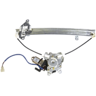 Fits 02-03 Mitsubishi Lancer Right Pass Rear Power Window Regulator With Motor
