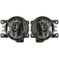 Fits 06-08 Mits Eclipse 06-11 Endeavor Left & Right Fog Lamp Assm - Set