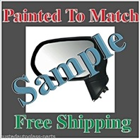 Painted to Match Mirror Fits 04-08 Maxima Left Driver Power W/Heat & Manual Fold