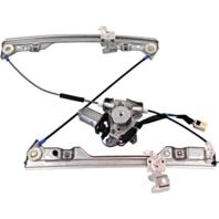 Fits 02-06 Altima Left Front Door Power Window Motor / Regulator w/ Auto Touch