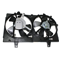 Fits 00-01 Maxima 00-01  I30 Dual Cooling Fan Assembly