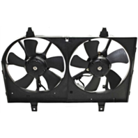 Fits 02-03 Maxima 02-04  I35 Dual Cooling Fan Assembly
