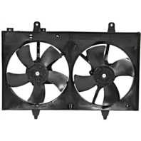 Fits 03-07 Murano Dual Cooling Fan Assambly