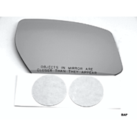 Fits 15-19 Maxima Right Pass Heated Convex Mirror Glass Lens w/Silicone
