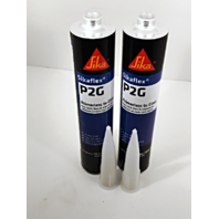 Auto Glass Urethane / Adhesive / Sealant  Primerless to Glass   2 Tubes Sika P2G