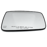 Right Pass Heated Mirror Glass w/Rear Holder for 09-19 Ram 1500, 10-19 2500, 3500 OE