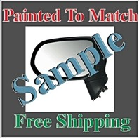 Painted to Match Manual MIrror Fits 98-02 Corolla / Prizm Right Pass Non Folding