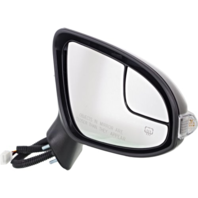 Fits 13-16 Venza Right Power Mirror With Heat, Signal, Puddle Lamp Manual Fold