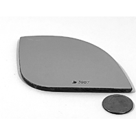 Fits 15-18 Sienna Right Passenger Small Spot Mirror Glass Lens as Pictured