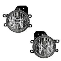 Left & Right Replacement Fog Light Assemblies for 12-18 Various Toyota / Lexus