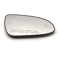 Fits 13-17 Camry Right Pass Convex Mirror Glass w/ Blind Spot Detection w/Holder