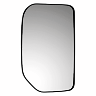 Left Driver Side Mirror Glass w/ Rear Back Plate OE for 07-14 Toy FJ Cruiser