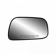 Fits 92-01 Toy Camry Right Pass 4Dr Sedan Mirror Glass w/Rear Holder USA Built