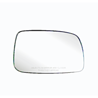 Fits 07-11 Toy Camry Right Pass Heated Mirror Glass w/Rear Holder USA built only Vin# 1,4,5