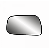 Fits 92-01 Toy Camry Left Driver 4dr Sedan Heated Mirror Glass w/Rear Back Plate