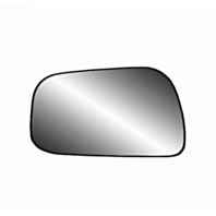 Fits 92-01 Toy Camry Left Driver 4Dr Sedan Mirror Glass w/Holder USA Built Only