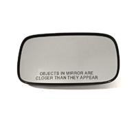 06-07 Volvo C70, 05-06 V50, 04-06 S40 Right Pass Heated Convex Mirror Glass w/Rear Holder OE